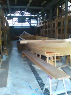 鵜飼観覧船造船所
