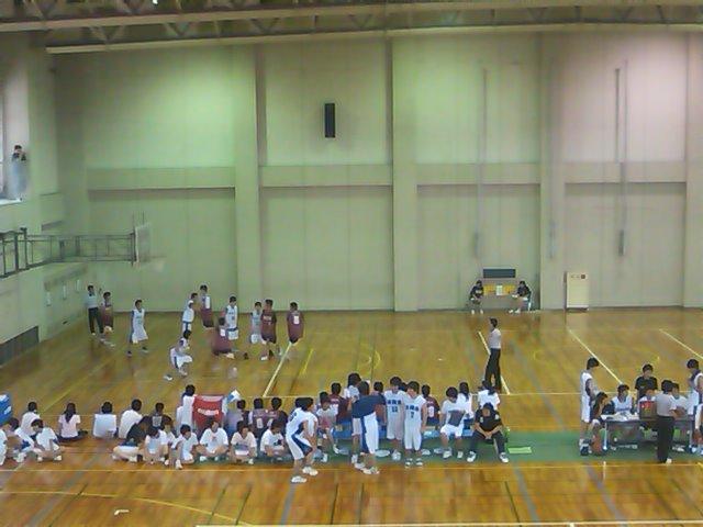 バスケットの試合
